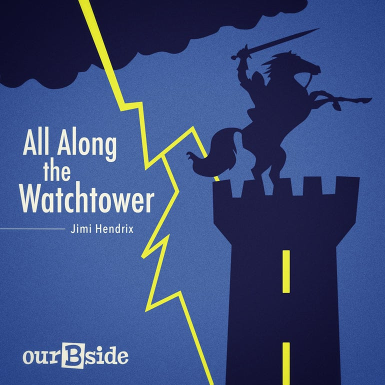 All Along the Watchtower - Jimi Handrix