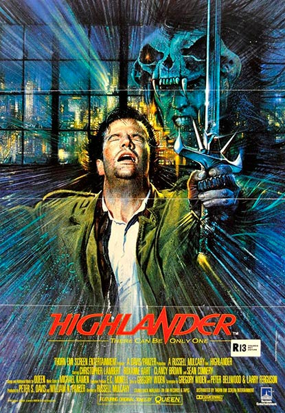 Highlander - Los Inmortales (cartel)