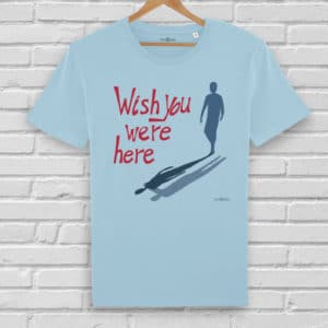Camiseta Wish You Were Here - Hombre